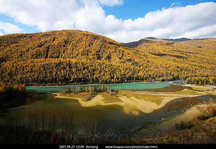 新疆塔城乌苏全景